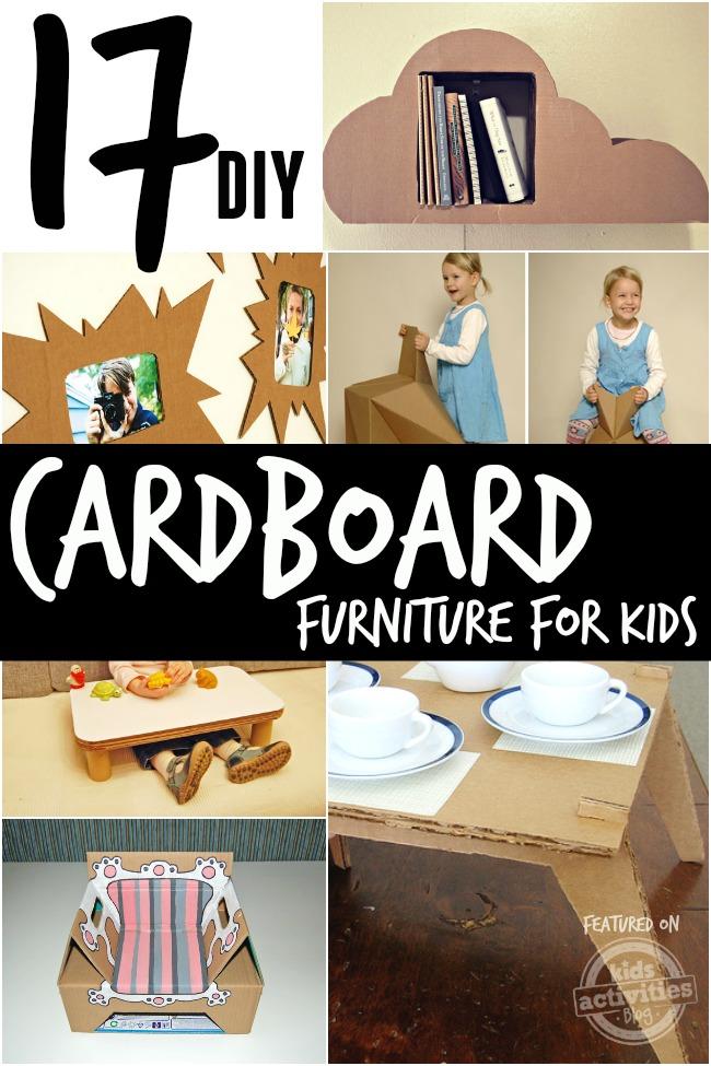 diy cardboard furniture for kids