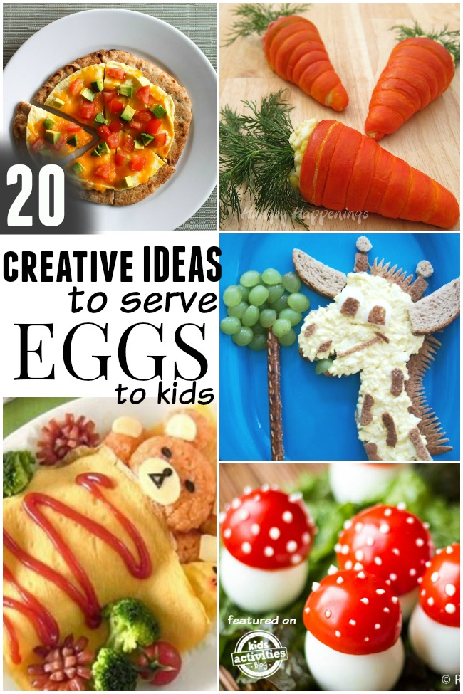 20 Healthy (and Super Cute) Egg Recipes For Kids