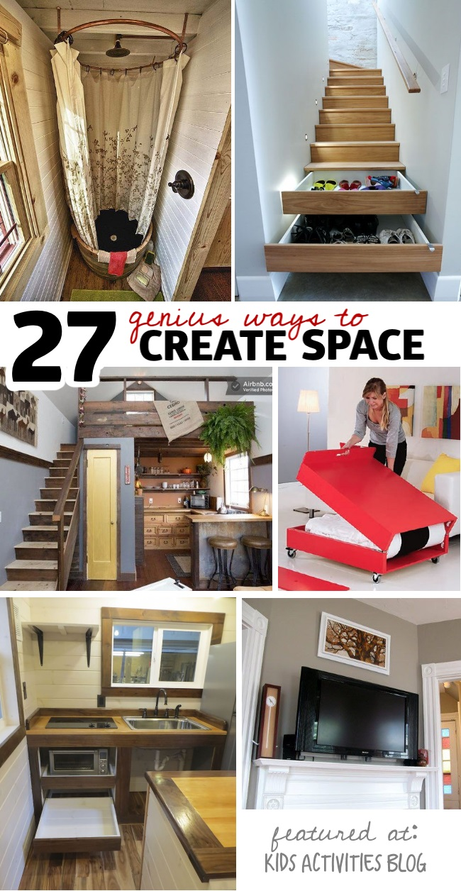 27 genius small space organization ideas Small home organization