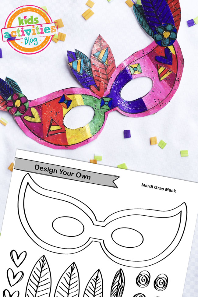 Mardi Gras Craft Activity