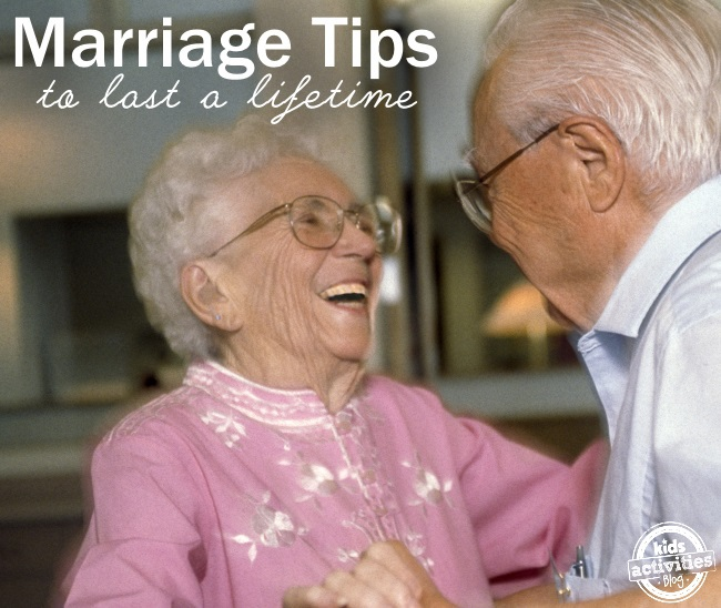 marriage tips for a lifetime