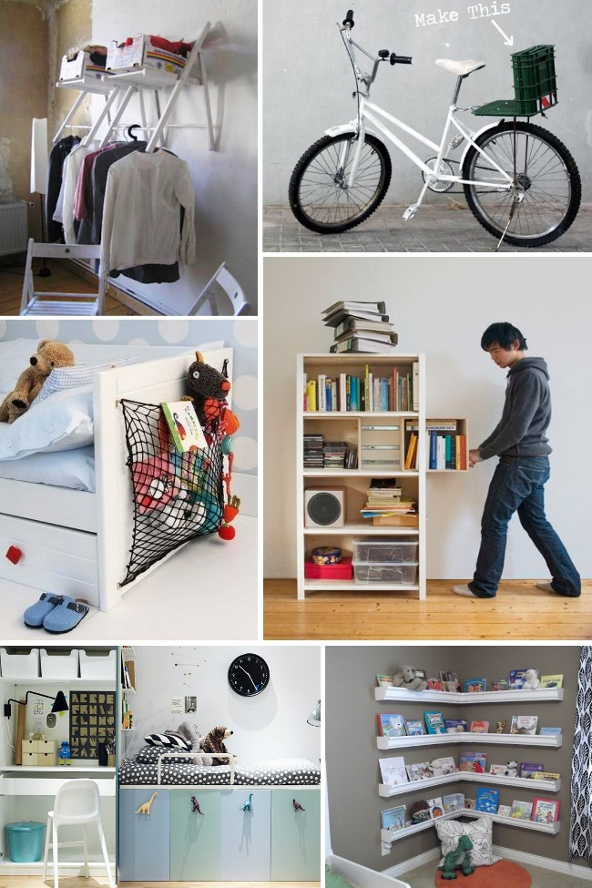 organization solutions for small rooms