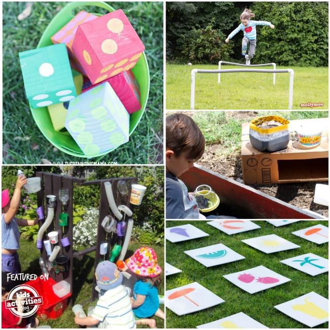 outdoor play ideas