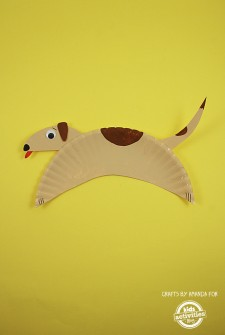 Paper Plate Crafts: Cute Doggy