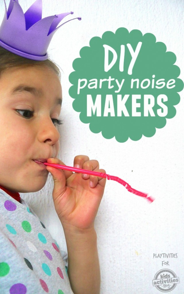 diy party noise makers