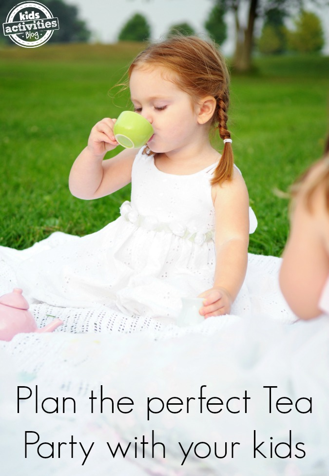 St Patrick's Day Tea Party with kids