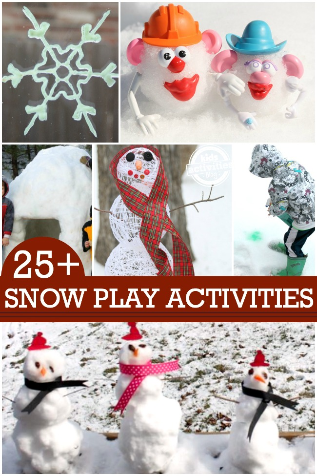 playing-with-snow-activities