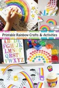 18 Printable Rainbow Crafts and Activities
