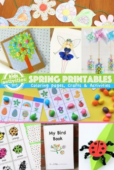 Printable Spring Crafts and Activities