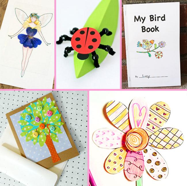 printable Spring crafts