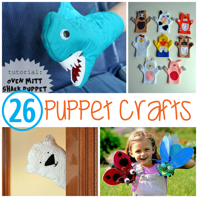 26 Puppets for Kids