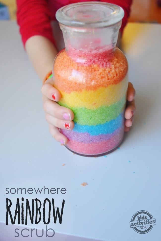 rainbow scrub directions