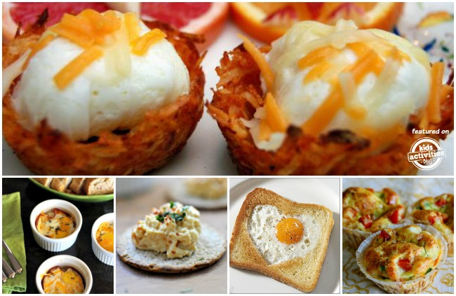 recipes with eggs for kids