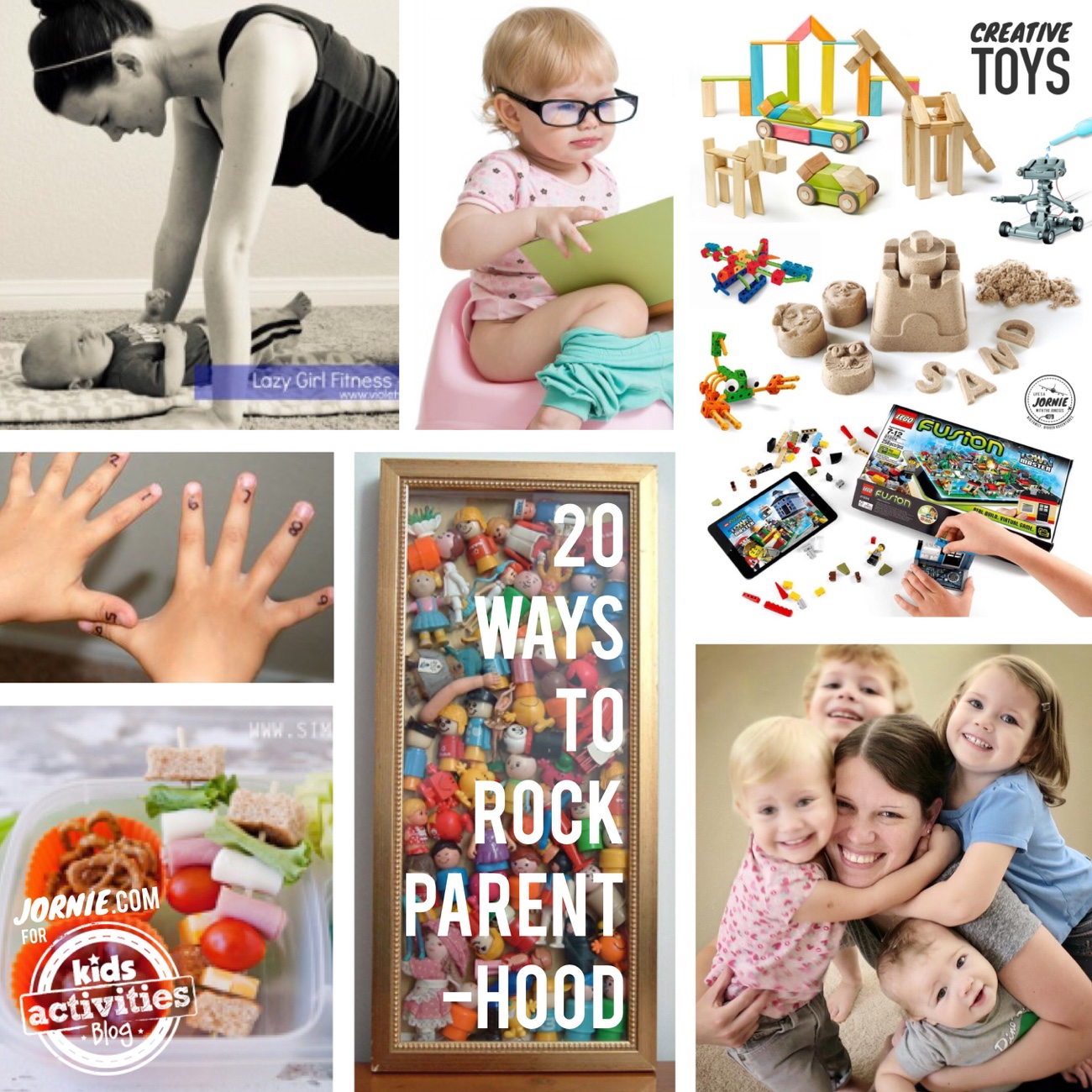 20 Ways to Rock Parenthood