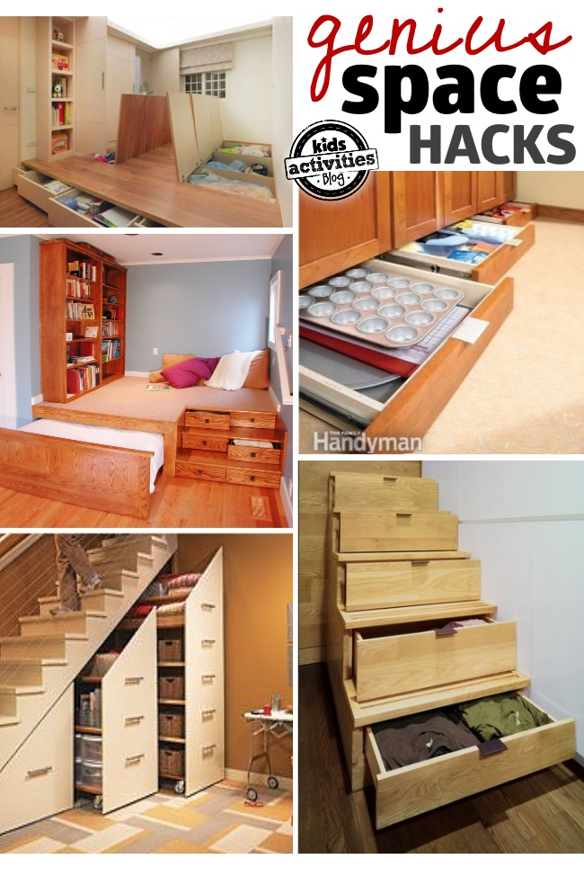 27 Genius Small Space Organization Ideas
