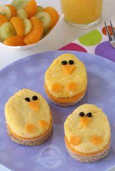 Spring Chick Breakfast Sandwiches