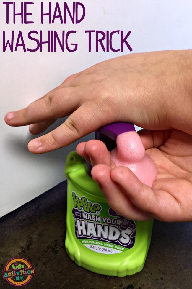 the hand washing trick