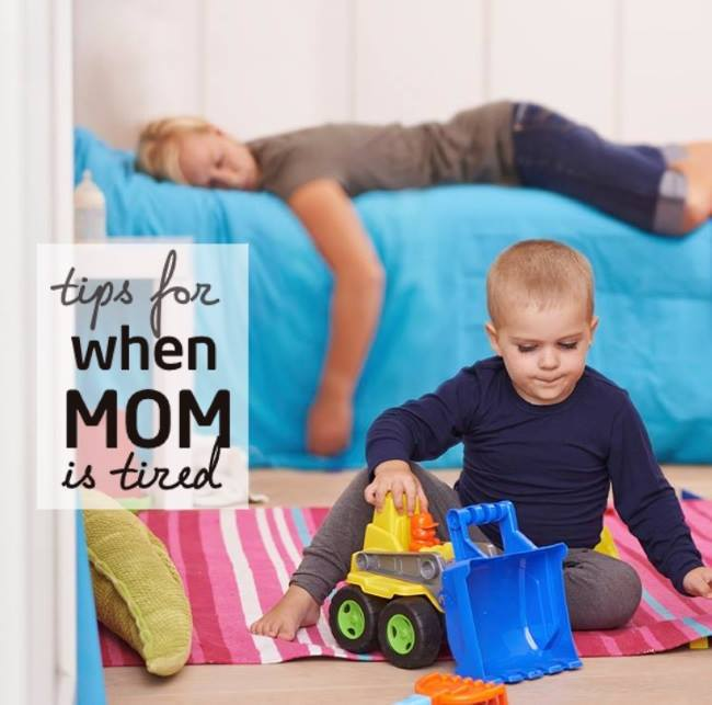 tired mom energy tips
