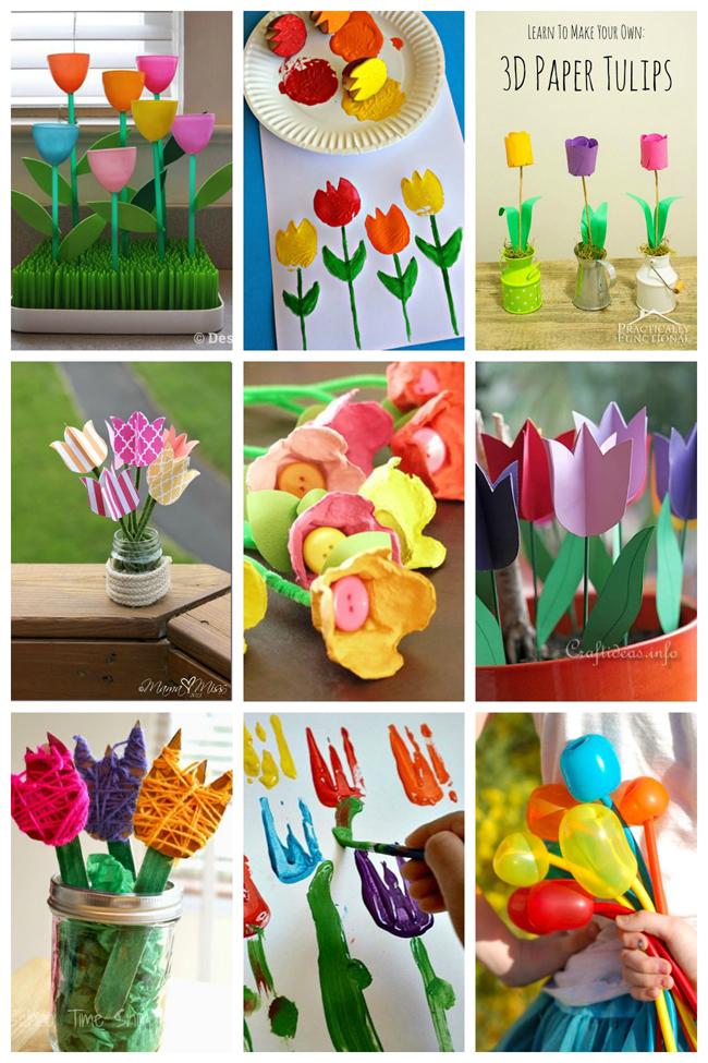 Easy Garden Craft Toddlers