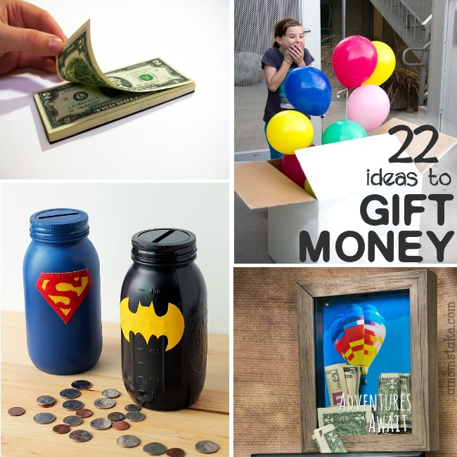 clever ways to give money