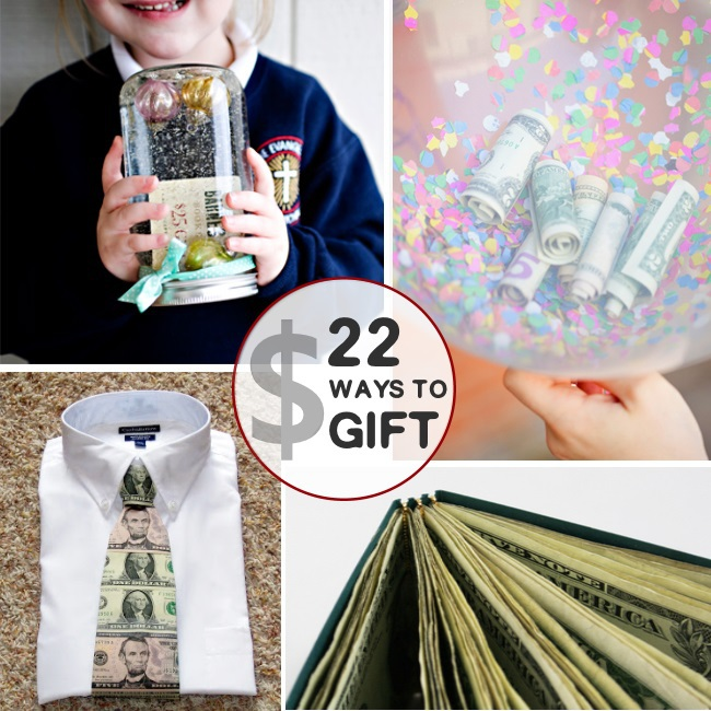 22 creative ways to gift money