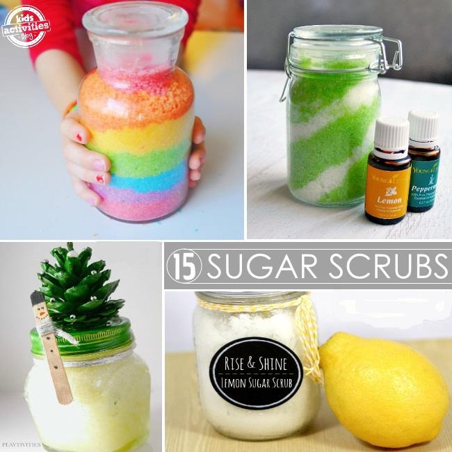15 scrumptious sugar scrubs