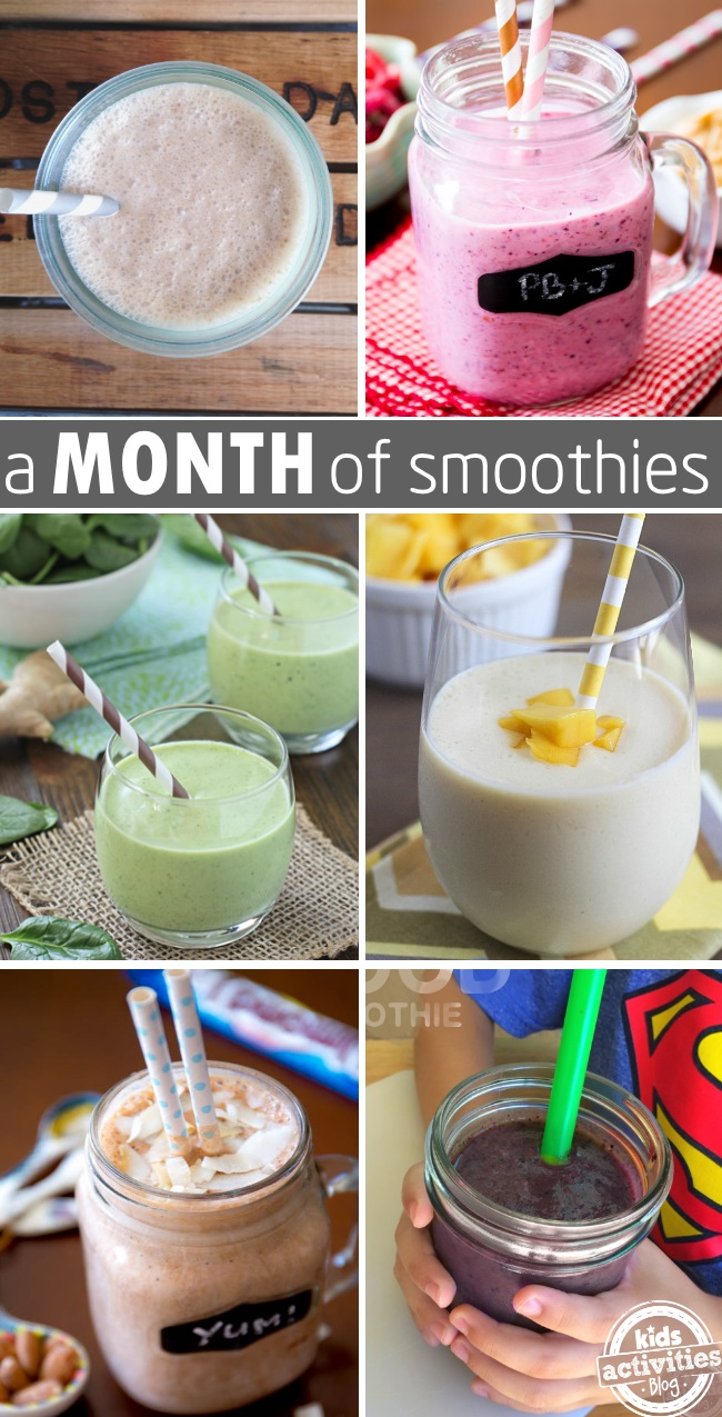 30 smoothie recipes