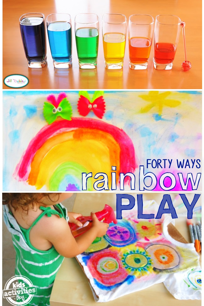 40 ways to play with rainbows