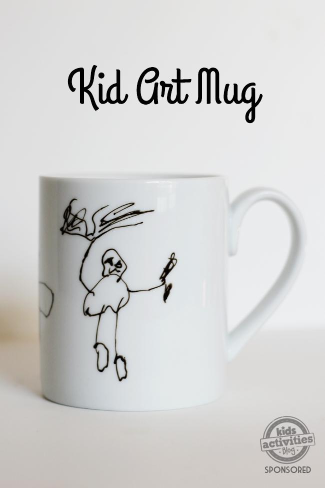 DIY Kid Art Mug