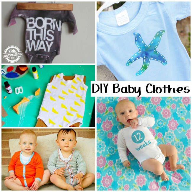 The Cutest DIY Onesies