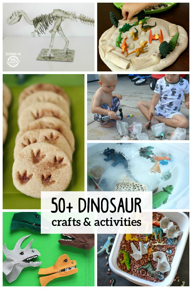 50 dinosaur crafts activities for Dinosaur crafts for toddlers
