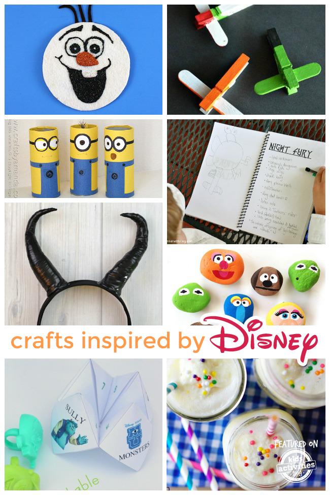 55 disney crafts