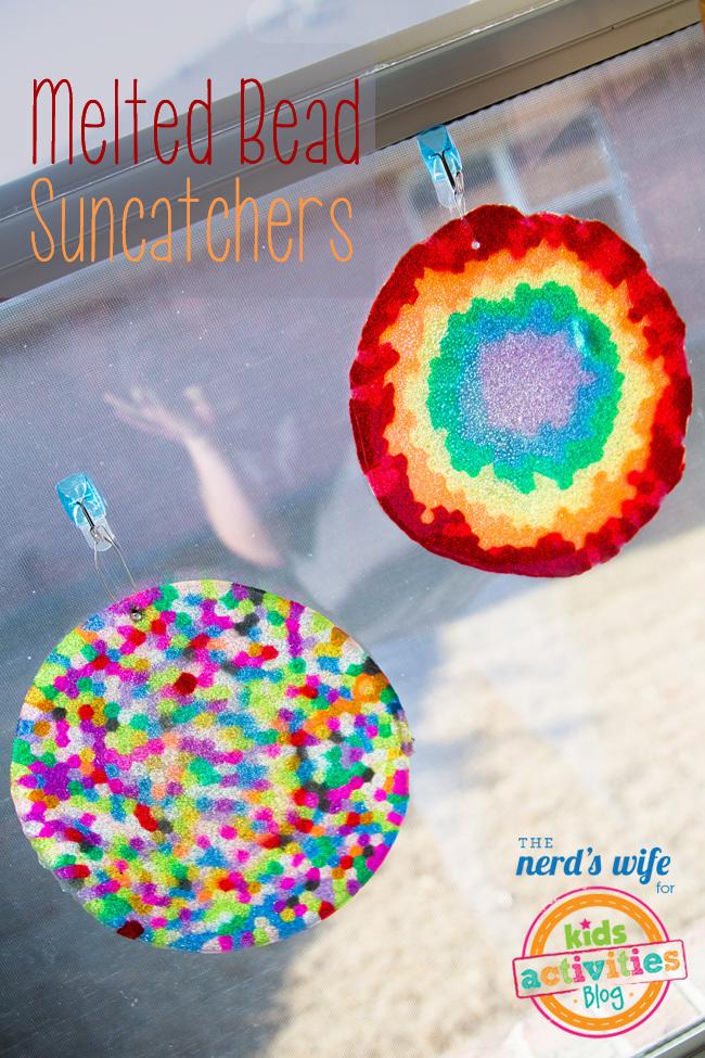 Melted Bead Suncatchers