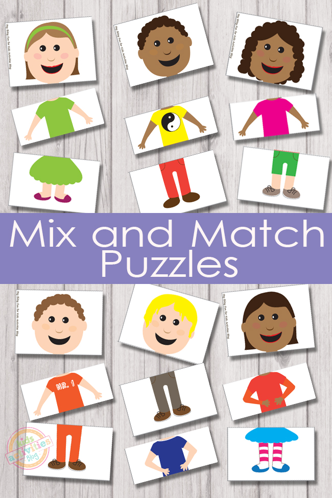 photo regarding Printable Puzzles for Kids named Combine and Sport Puzzles Free of charge Youngsters Printable