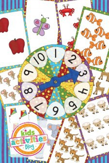 Free Printable Number Jumping Active Counting Game