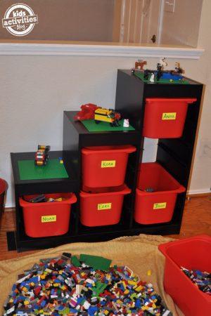 DIY Lego Organization