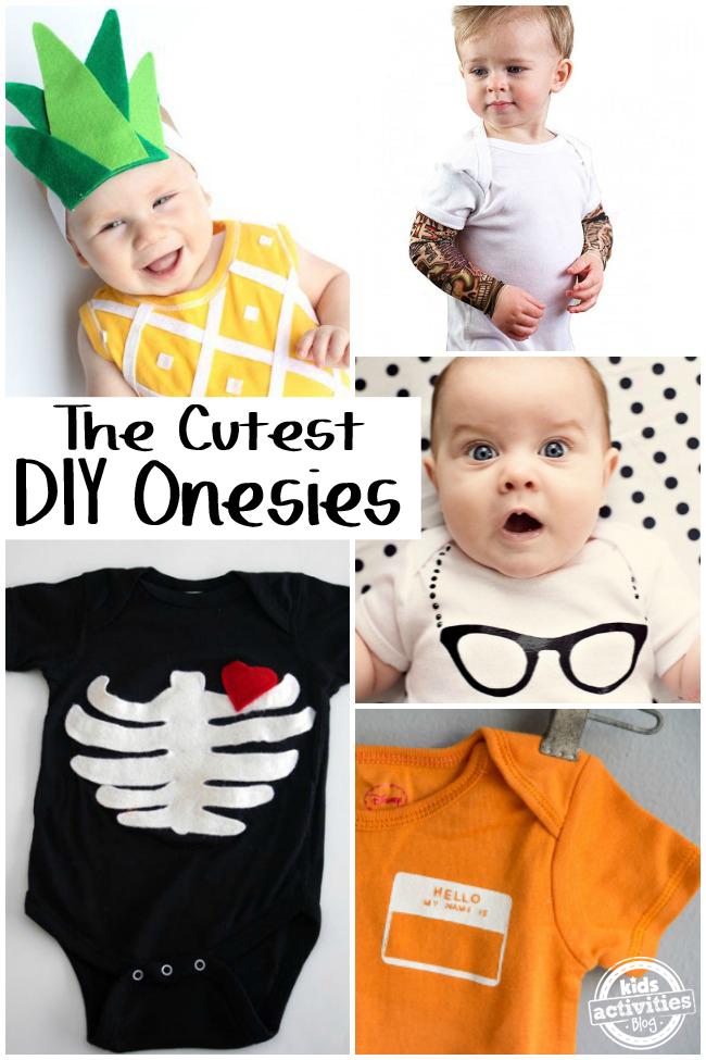 The Cutest DIY Onesies
