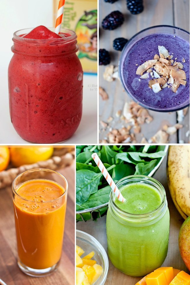 a month worth of smoothie recipes