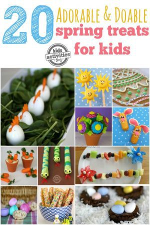 adorable doable spring treats for kids KAB