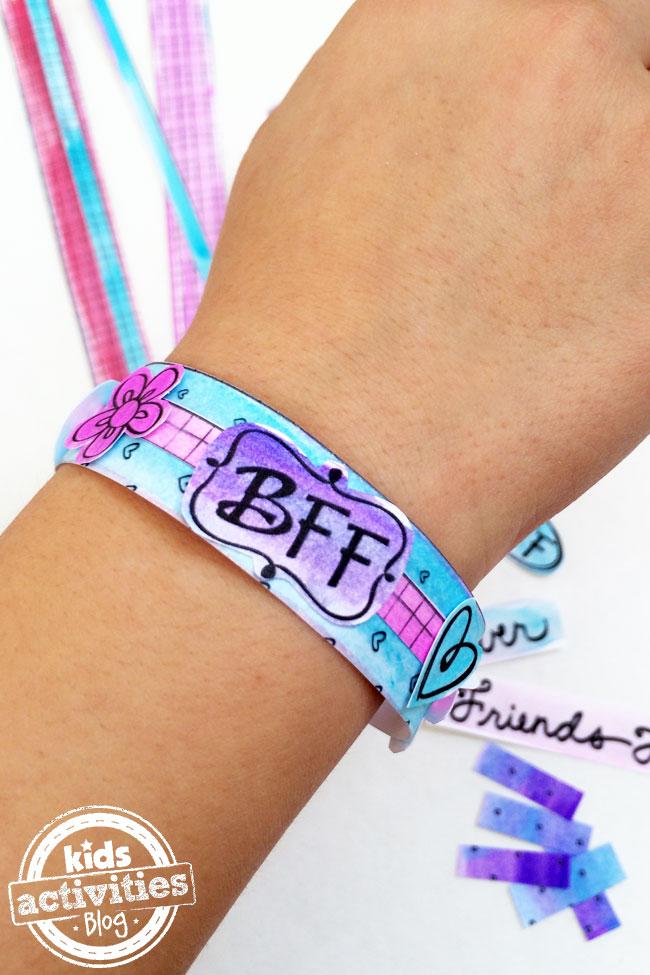 BFF Bracelets Printable