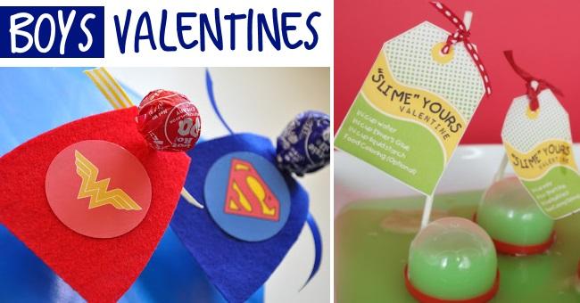 boys valentines