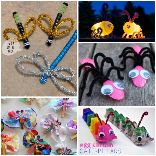 20 Adorable Bug Crafts Activities And Food Ideas