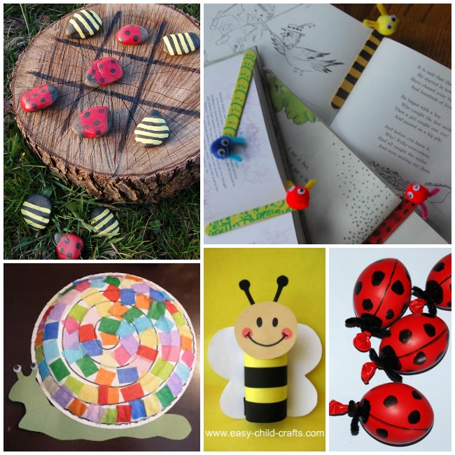 bug crafts activities kids