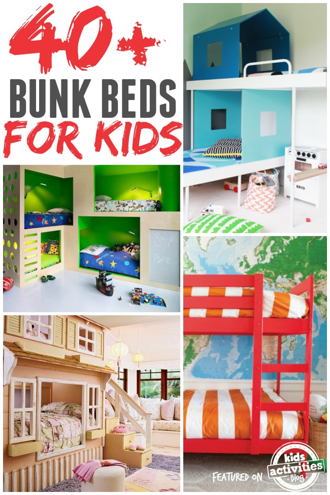 bunk beds for kids big