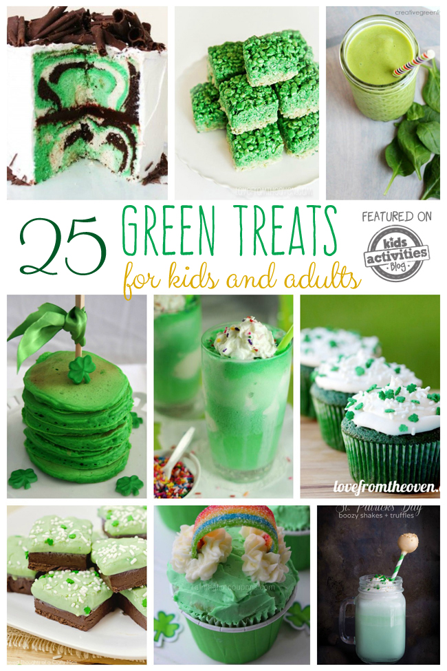 25 green food ideas treats for kids and adults for Cuisine on the green