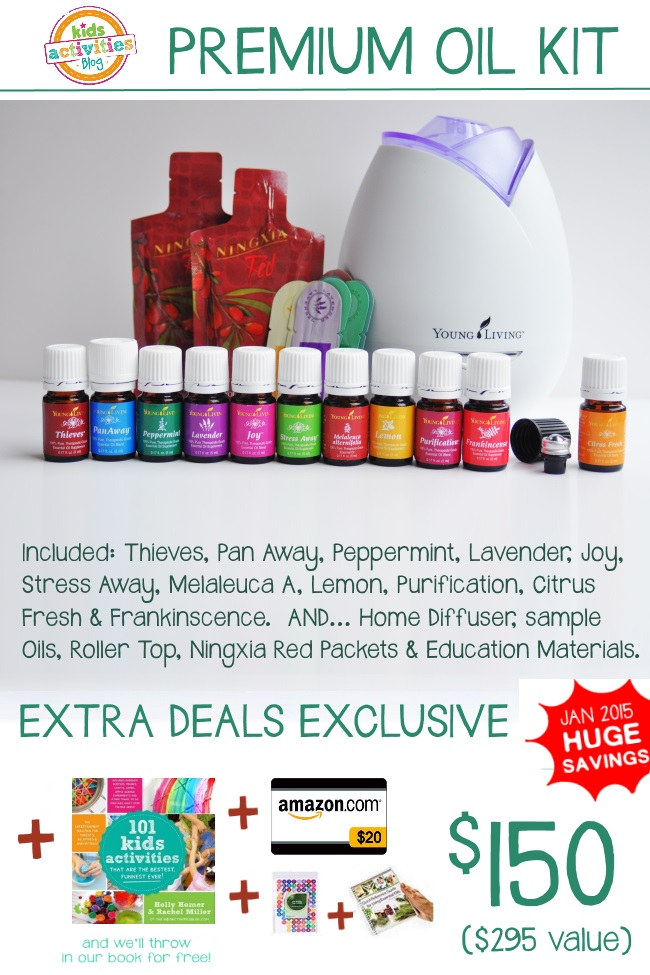 Essential Oil Deal January 2015