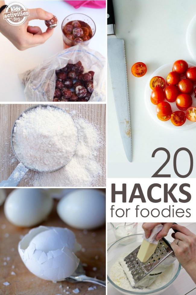 easy kitchen hacks