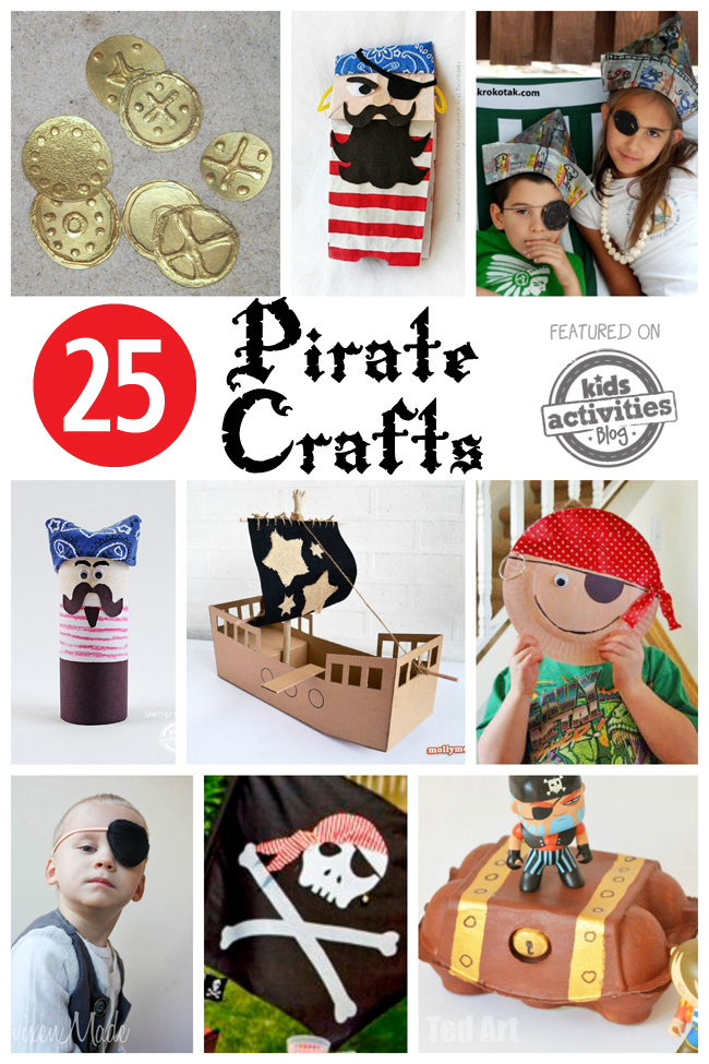 Pirates Crafts For Kid...