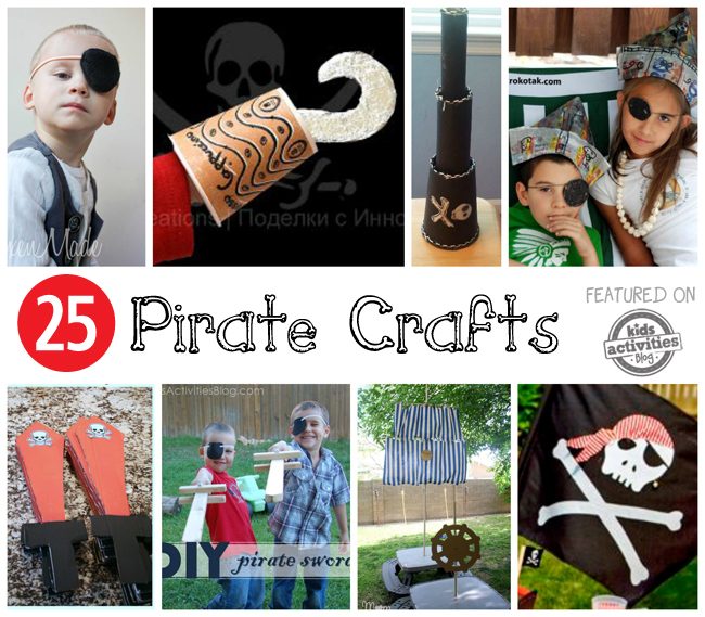 25 Pirate Crafts Kids Can Make