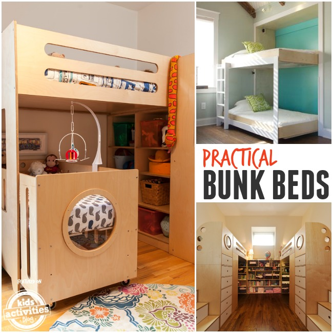 practical bunk beds